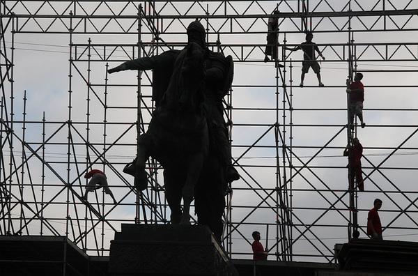 ©Людмила Зинченко. «Памятник князю Юрию Долгорукому. Москва, 2007»