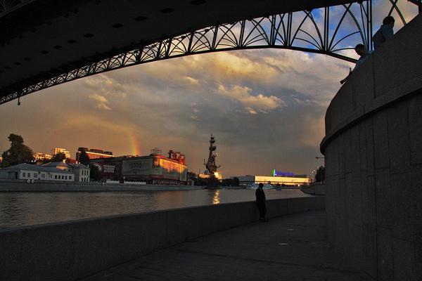 ©Людмила Зинченко. «Патриарший мост. Москва, 2007»