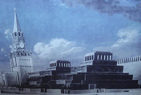 Мавзолеи Ленина и Сталина