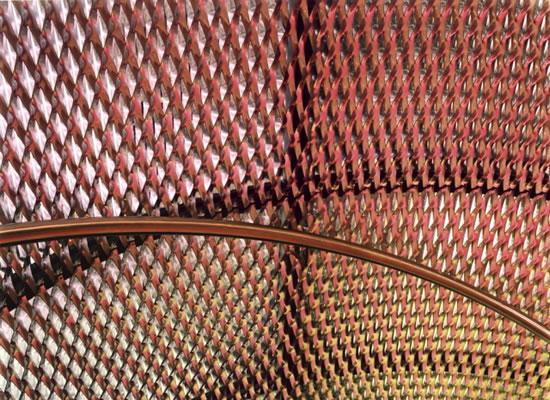 Белый, розовый, желтый и зеленый 2007. Компьютерный отпечаток, Diasec 203 x 256 см. Тираж 6 Courtesy Purdy Hicks Gallery