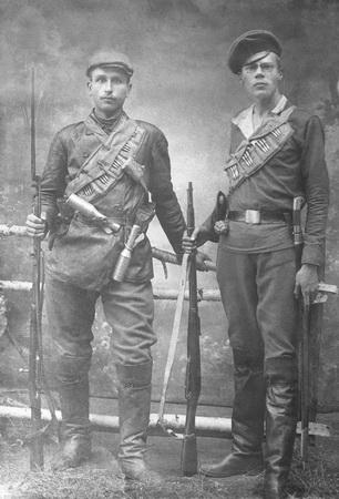 Красноармейцы. 1918 (ГАСО)