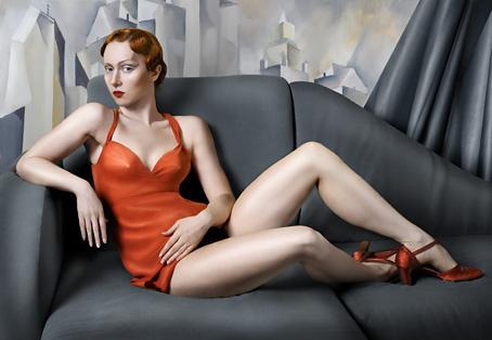 Катя Белкина. For Lempicka. Paint 2007