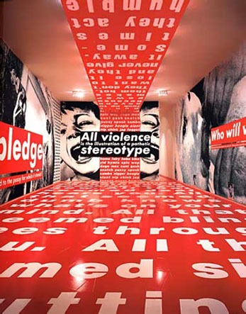Инсталляция	в MARY BOONE GALLERY, New York<br />