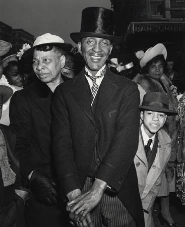 Easter Sunday, Harlem, 1943