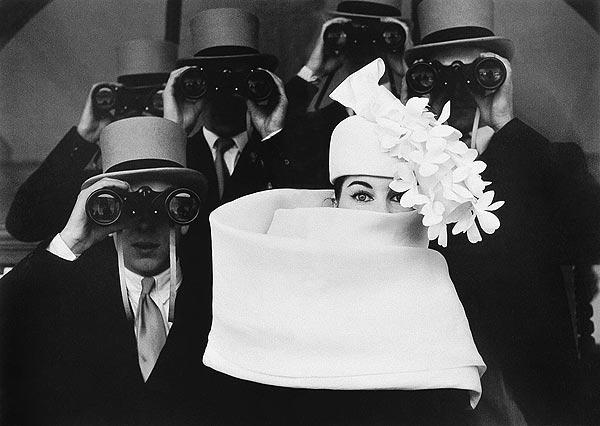 Шляпка от Живанши. Париж, 1958