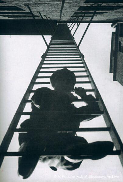 ©Александр Родченко. «Пожарная лестница. 1925»