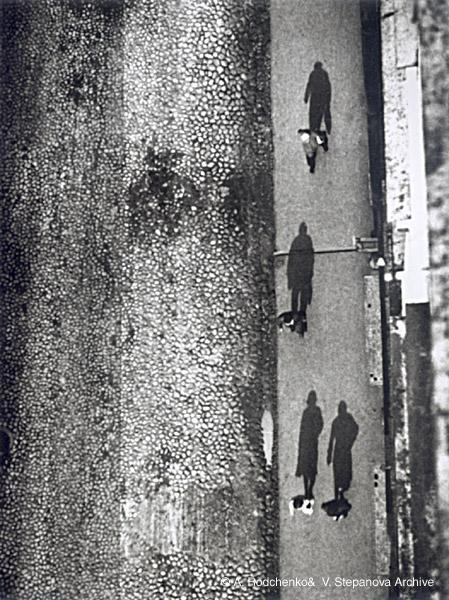 ©Александр Родченко. «Пешеходы. 1928»