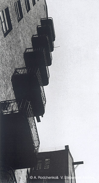 ©Александр Родченко. «Балконы. 1925»