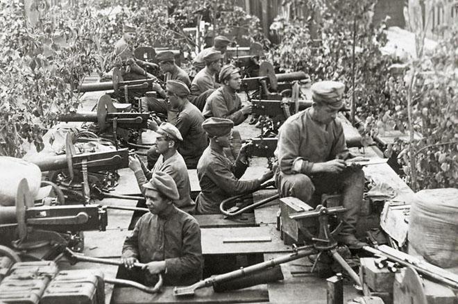 Бронепоезд чехословацкого корпуса. 1919