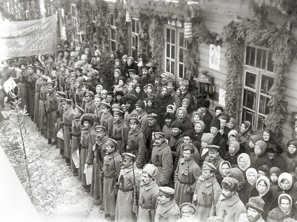 Красноармейский митинг. 1918 (ГАСО)
