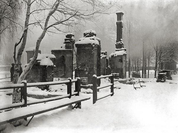 Сожженная деревня. 1919