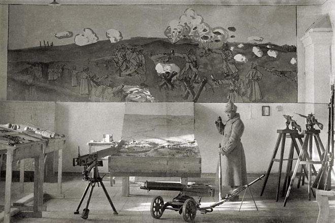 Музей 57 стрелковой дивизии. 1925 г.