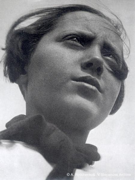 ©Александр Родченко. «Пионерка. 1930»