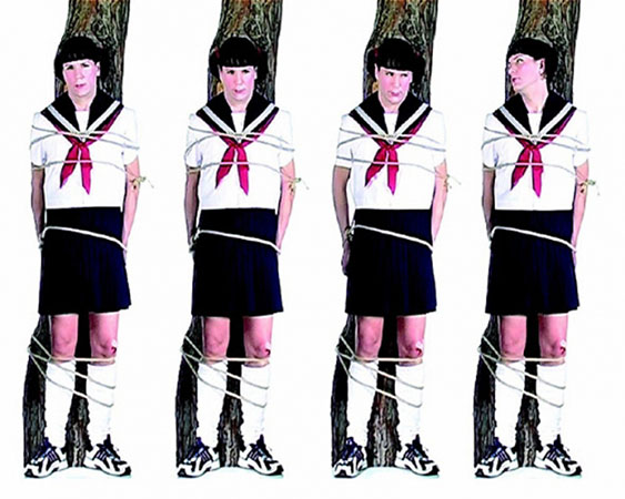 Бьорн Мельхус<br /> Eastern Western Park 2005<br /> 6-ти канальная видеоинсталляция, 11:15 мин