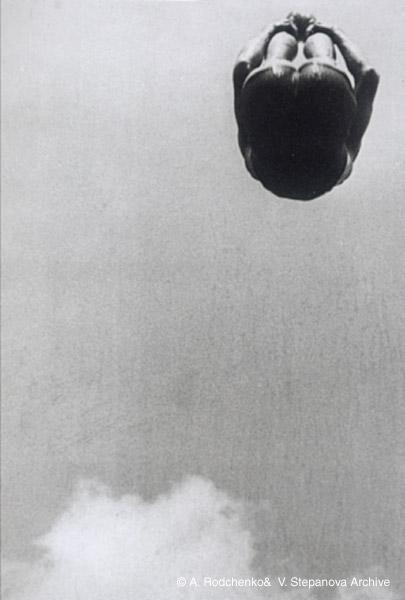 ©Александр Родченко. «Прыжок в воду. 1934»