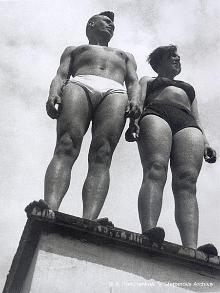 ©Александр Родченко. «Двое. 1932»
