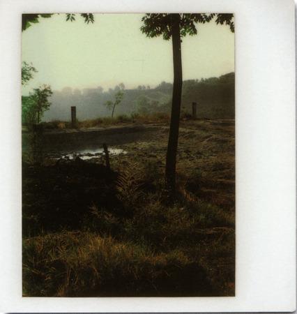 Jast outside Bagno<br /> Vignoni<br /> август 1979