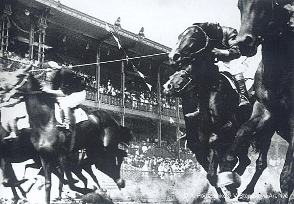 ©Александр Родченко. «Скачки. 1935»