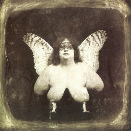 © Joel-Peter Witkin<br /> The bird of quevada, 1982