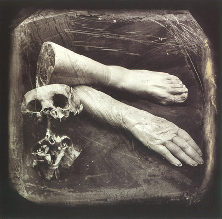 © Joel-Peter Witkin<br /> Poet From a collection of relics and ornaments, 1986
