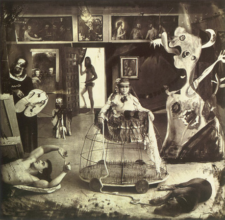 &copy; Joel-Peter Witkin<br /> Las Meni&#241;as, New Mexico, 1987