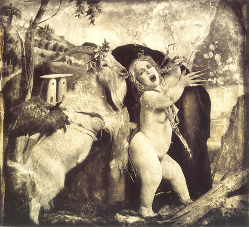 © Joel-Peter Witkin<br /> Daphne and Apollo, Los Angeles, 1990