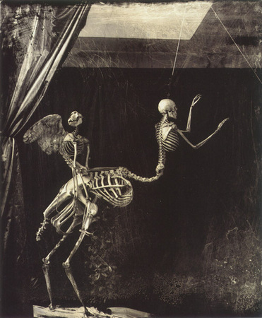 © Joel-Peter Witkin<br /> Cupid and Centaur, 1992