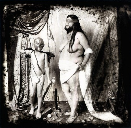 © Joel-Peter Witkin<br /> Blind Woman with Her Blind Son, Nogales, 1989