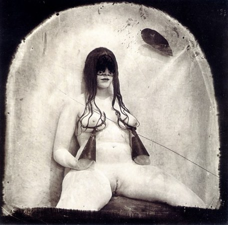 © Joel-Peter Witkin<br /> The Bra of Joan Miró, New Mexico, 1982