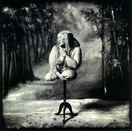 © Joel-Peter Witkin<br /> Woman on a Table, New Mexico, 1987