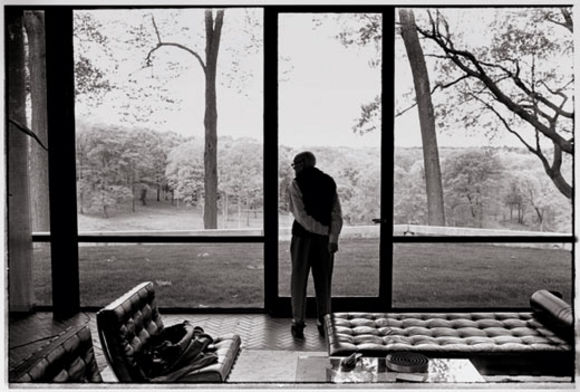 Philip Johnson. Photo by Annie Leibovitz