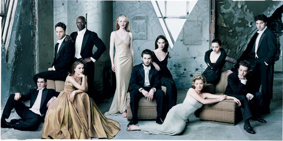 THE HOT NEXT WAVE. Photo by Annie Leibovitz for VANITY FAIR