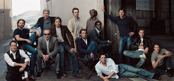 Hollywood Kings. Photo by Annie Leibovitz for VANITY FAIR