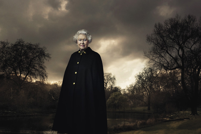 The Queen of England. <br />