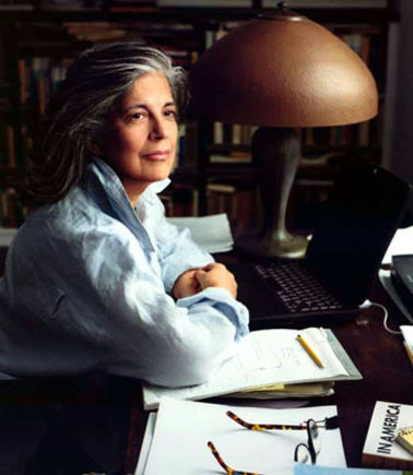 Susan Sontag. Photo by Annie Leibovitz