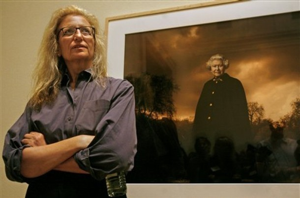 Annie Leibovitz. Photo from AP Photo by Jacquelyn Martin