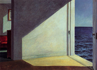 Эдвард Хоппер. Комнаты у моря. Rooms by the sea, 1951