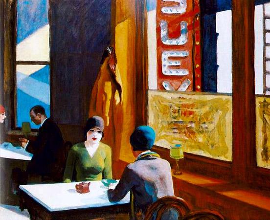 Эдвард Хоппер «Chop Suey», 1929
