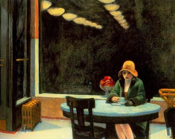 Эдвард Хоппер «Автомат», 1927