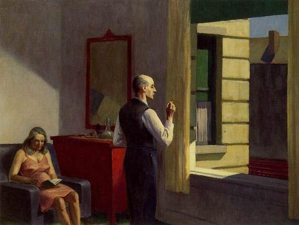 Эдвард Хоппер «Отель у железной дороги», 1952