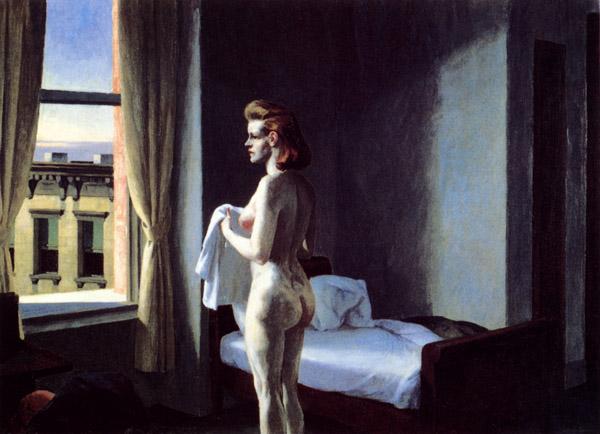Эдвард Хоппер «Утро в городе», 1944
