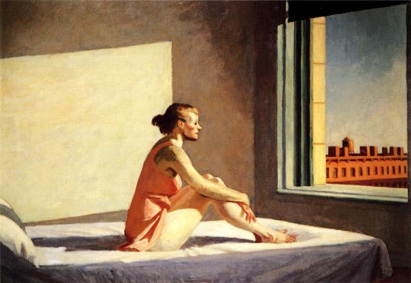 Эдвард Хоппер «Утреннее солнце», 1952