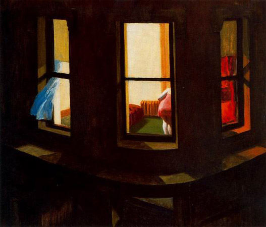 Эдвард Хоппер «Ночные окна»,1928
