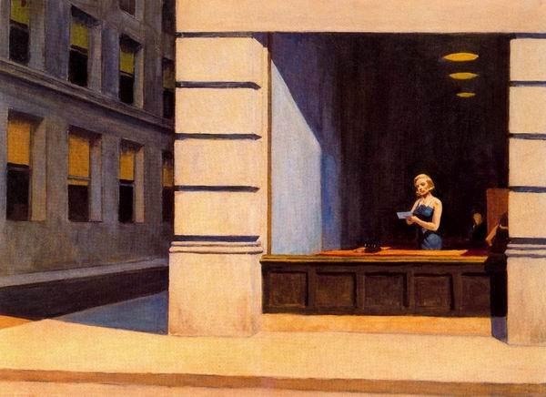 Эдвард Хоппер «Офис в Нью-Йорке», 1962
