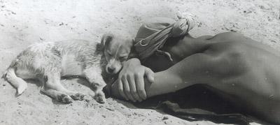 ©Анатолий Болдин. «Друзья. Московская область. 1961»