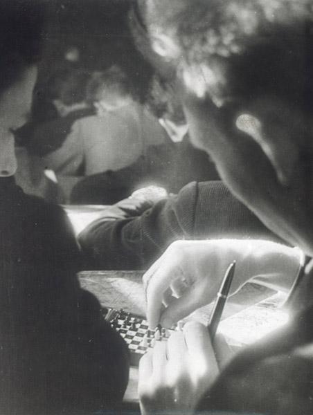 ©Анатолий Болдин. «На лекции. МВТУ им. Баумана. 1960»
