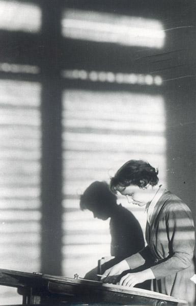 ©Анатолий Болдин. «Весной. МВТУ им. Баумана. Москва. 1959»