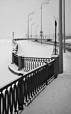 Олег Матюхин «Набережная, март.», <nobr>С-Петербург</nobr>, 2005