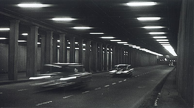 ©Анатолий Болдин. «В тоннеле. Москва. 1960»