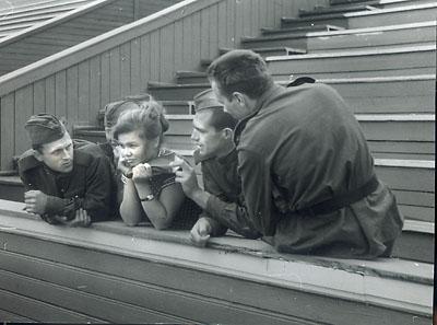 ©Анатолий Болдин. «Без названия. Череповец. 1961»